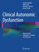 Clinical Autonomic Dysfunction Book